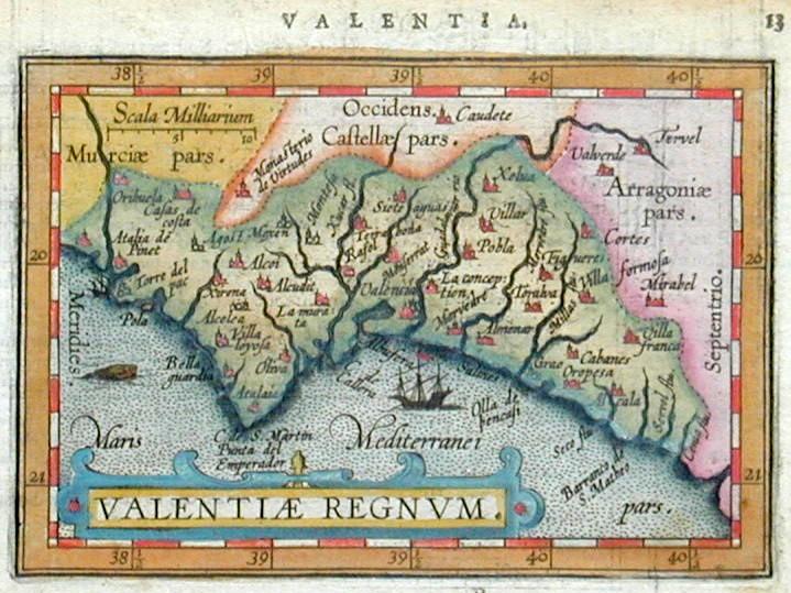 Bertius  Valenciae Regnum