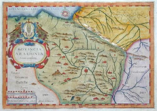 Montelcalerio  Provincia Aragoniae Cum Confiniis