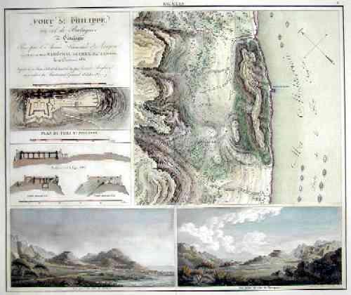Collin  Fort St. Philippe, au col de Balaguer en Catalogne……..
