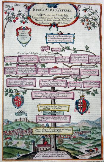 Albizzi Antonio Reges Arrag Veteres ….I.ennicus dictus avista ex gente Gotha Mauris expulsis.