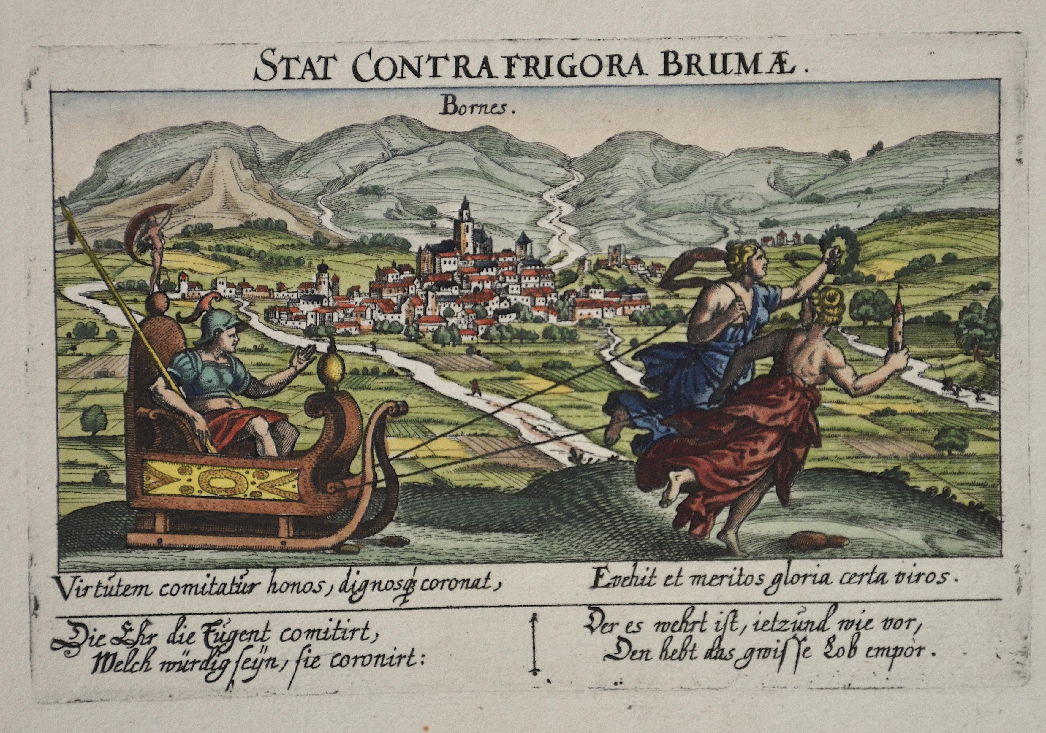Nürnberger Schatzkästchen  Stat contrafrigora Brumae
