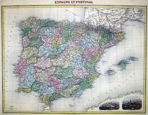 Lecocq  Espagne et Portugal