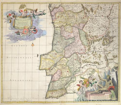 Feuille, de la Daniel, Nova regni Portugali et Algarbiae descriptio