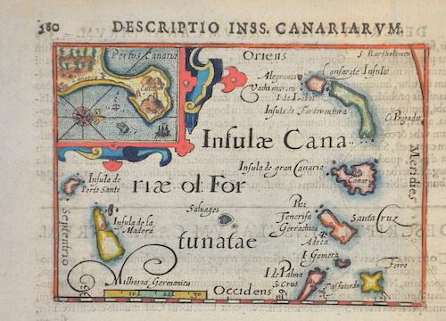 Bertius  Descriptio Inss. Canariarum.