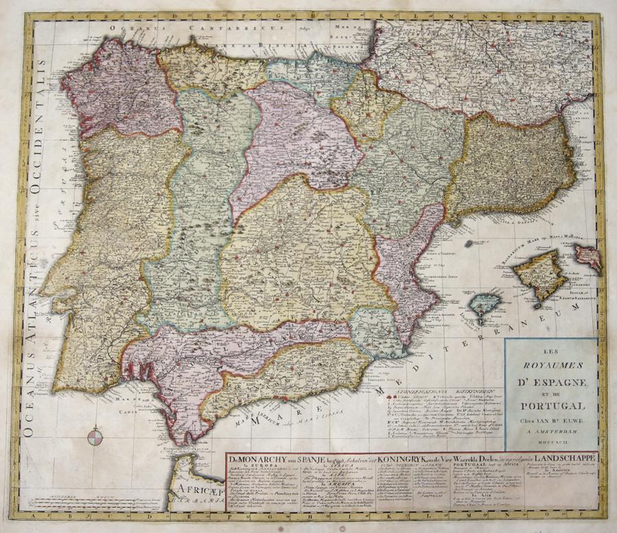 356 Les Royaumes d'Espagne et de Portugal