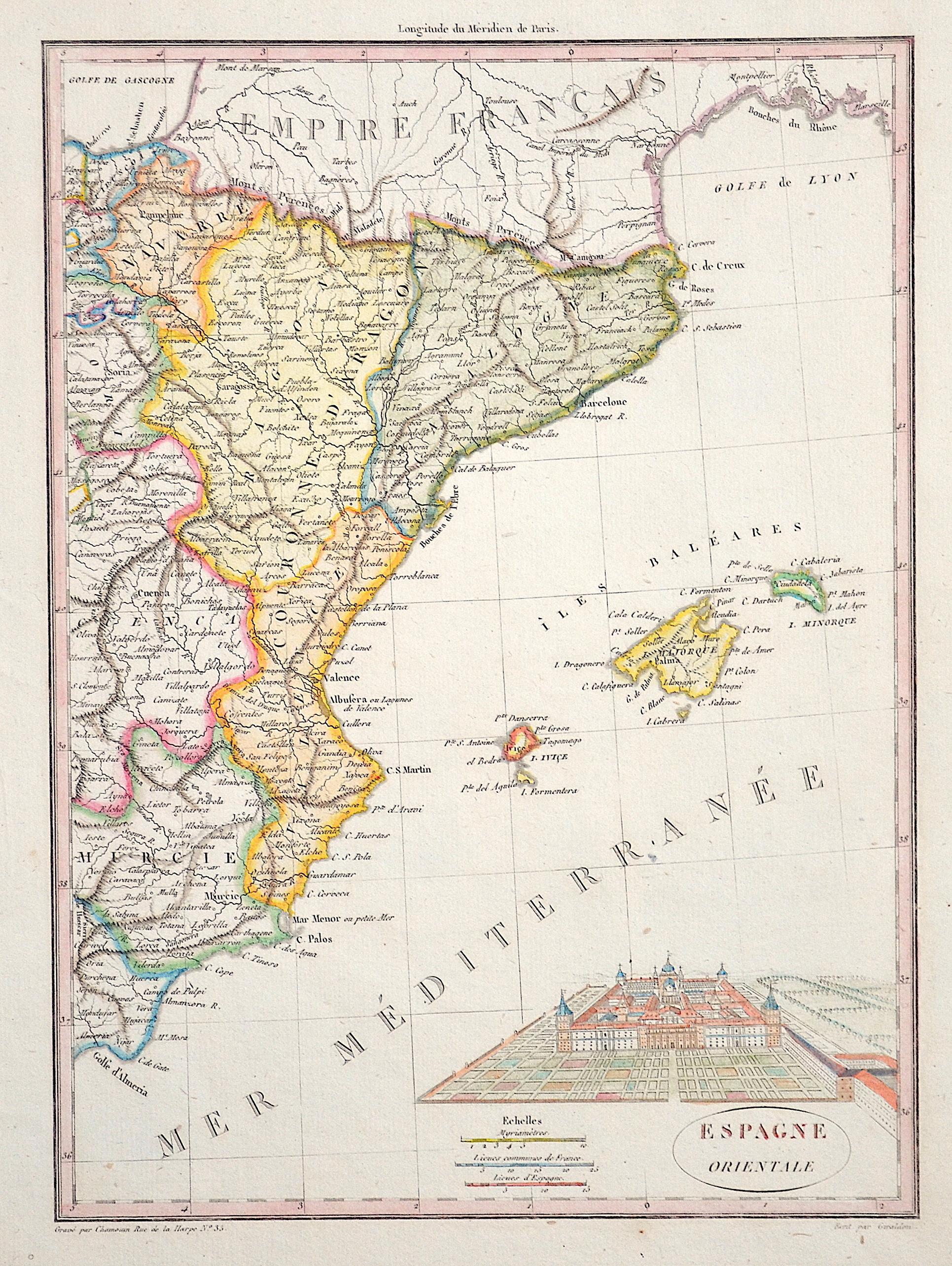Giraldon  Espagne Orientale