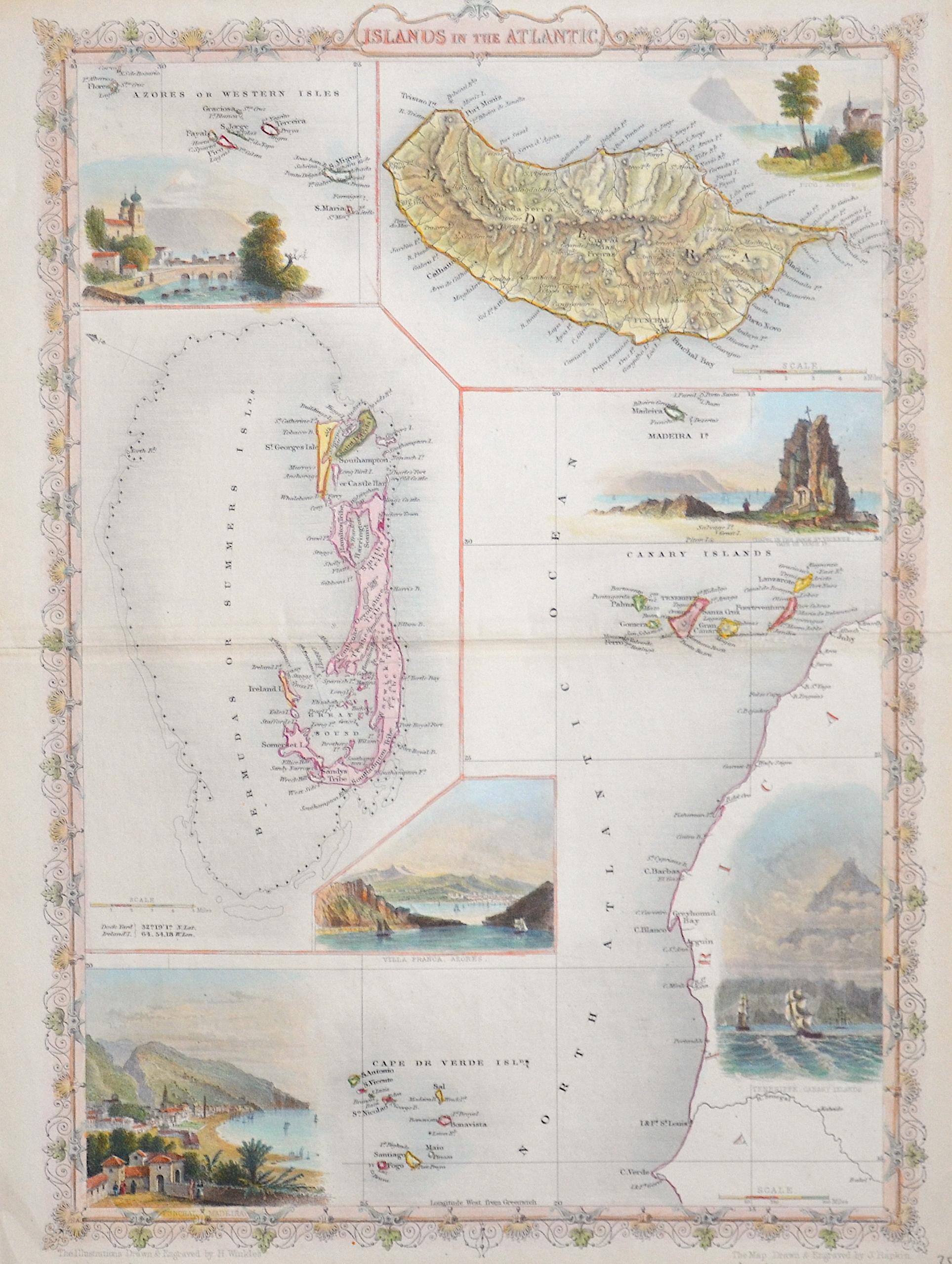 Tallis John Islands in the Atlantic