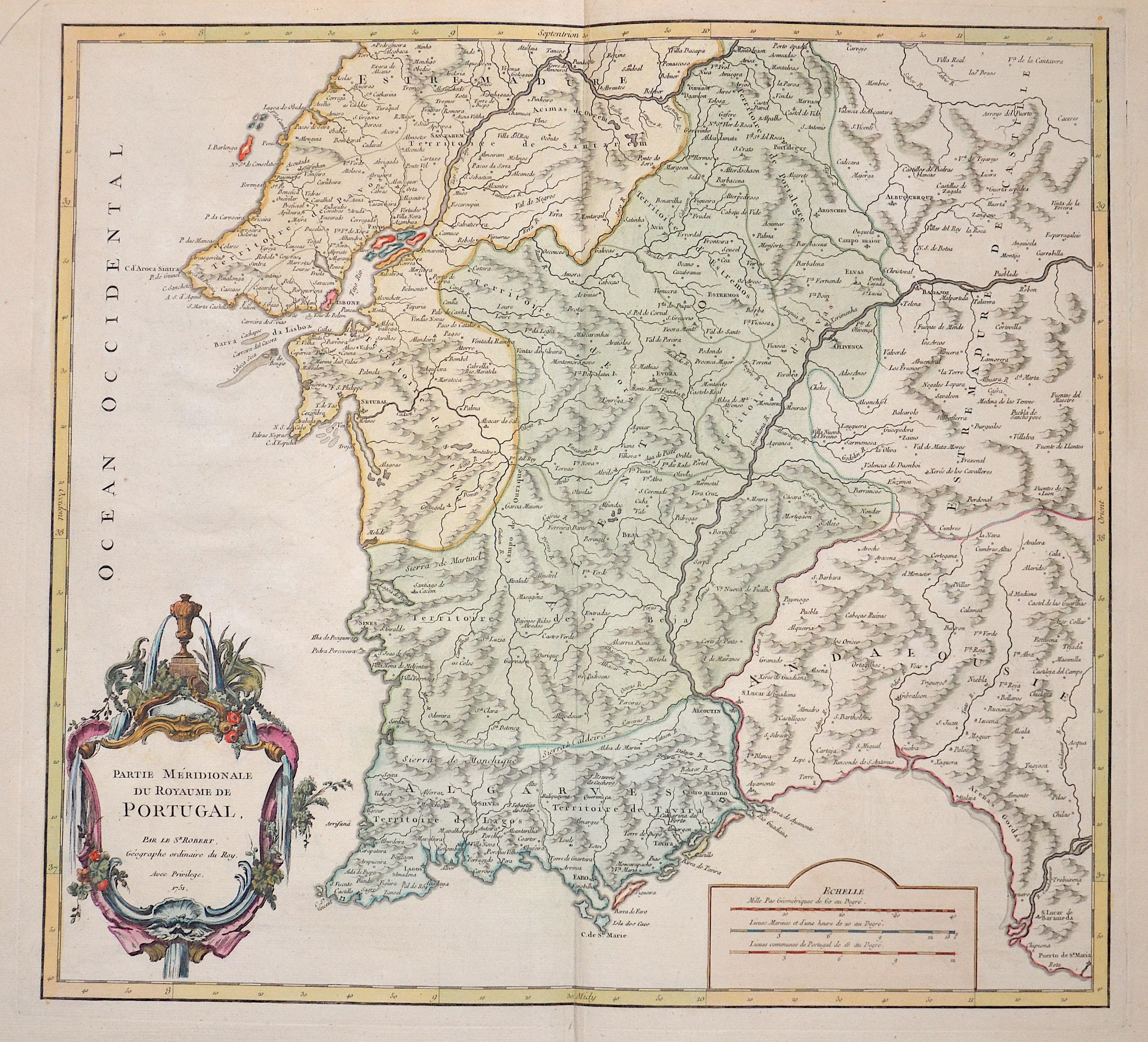 Robert Gilles (Sr.) Partie Méridionale du Royaume de Portugal.