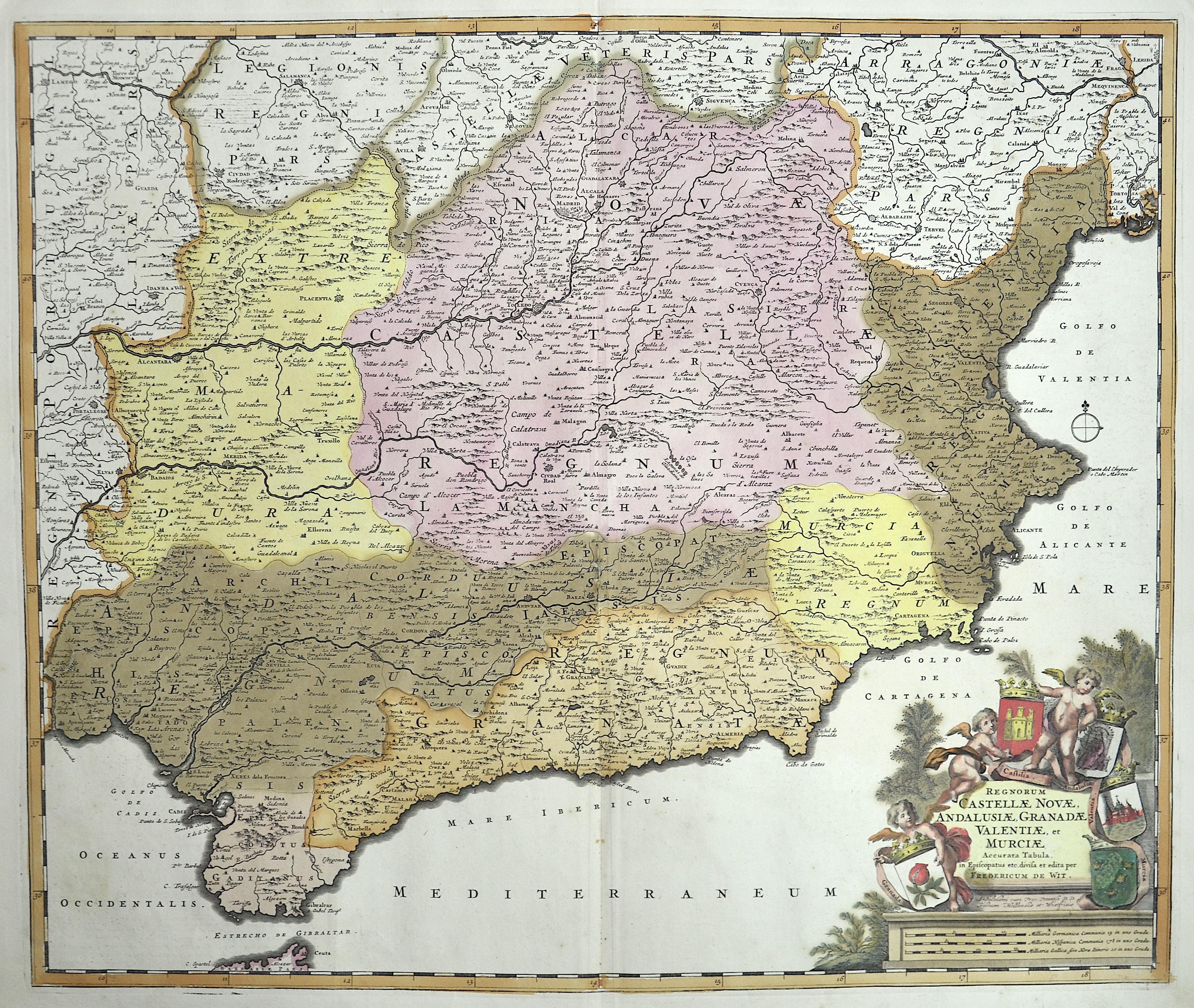 Wit, de Frederick Regnorum Castellae Novae, Andalusiae, Granadae Valentiae, et Murciae