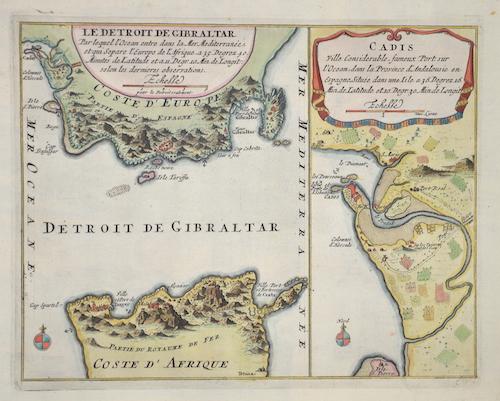Kellner  Die Meerenge von Gibraltar