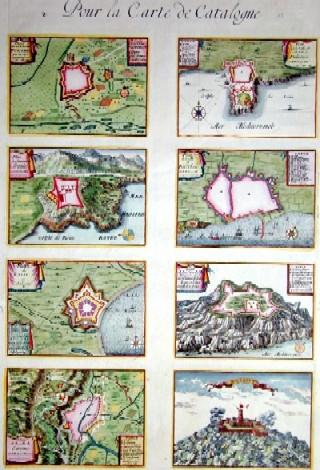 Homann  Pour la Carte de Catalogne