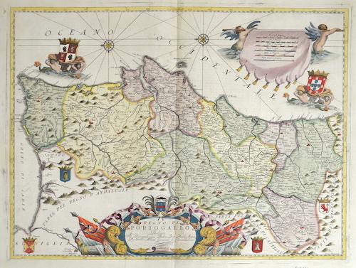 Coronelli Vicenzo Maria Regno di Porto gallo…