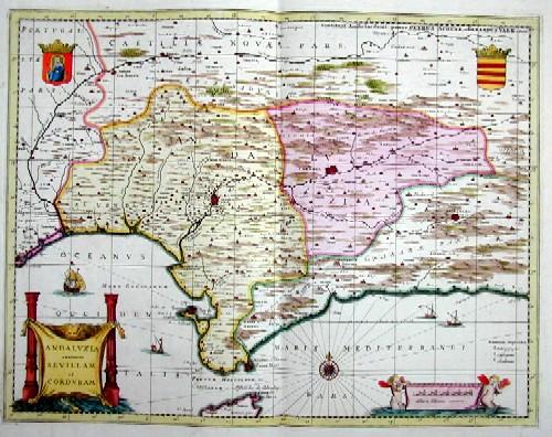 Valk  Andaluzia continents Sevillam et Cordubam