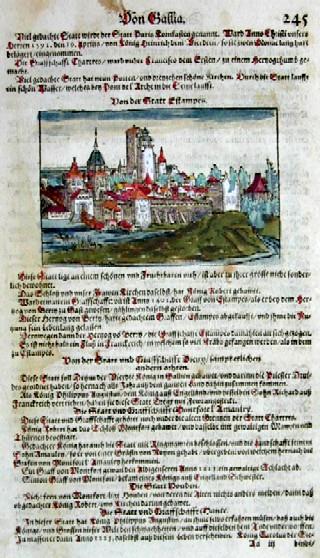 Münster Sebastian Von der Statt Estampes