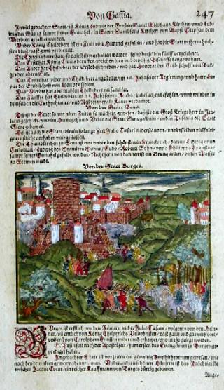 Münster  Von der Stadt Burges