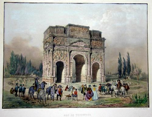 Lemercier / Levasseur  Arc de Triomphe à Orange