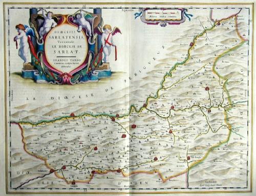 Blaeu Willem Janszoon Dioecesis Sarlatensis, vernacule