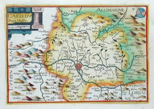 Anonymus  Carte du Pays Messin