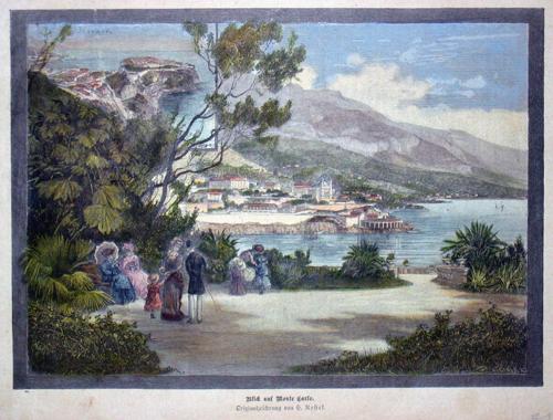 Nestel H. Blick auf Monte Carlo