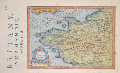 Hondius/Sparke Joducus Britany, Normadie and Belsia