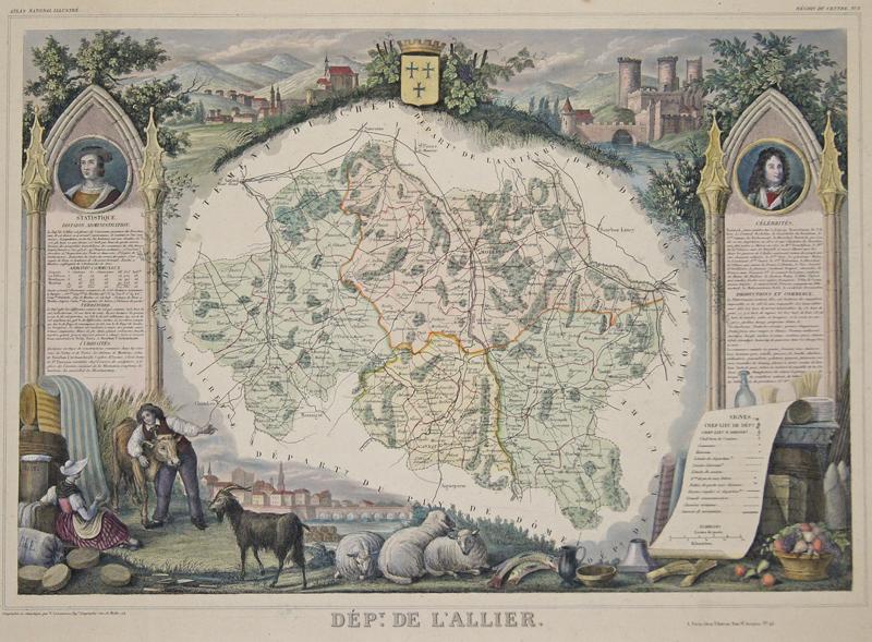 Lemercier / Levasseur  Dept. De Allier