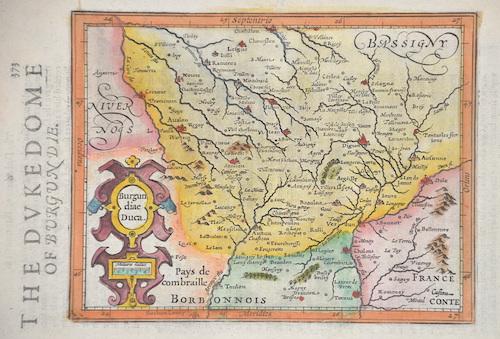Sparke Michael The Dukedom of Burgundie/ Burgundiae Duca