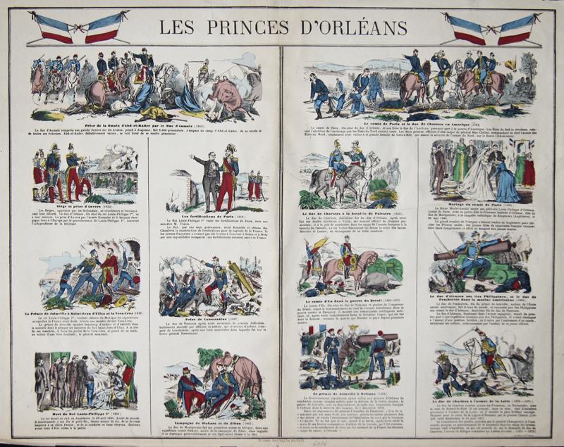 Peleria  Les Princes dOrleons