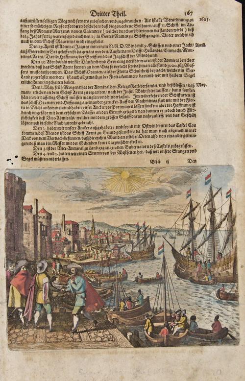 Merian  West-Inianischer Historien. Dritter Theil.