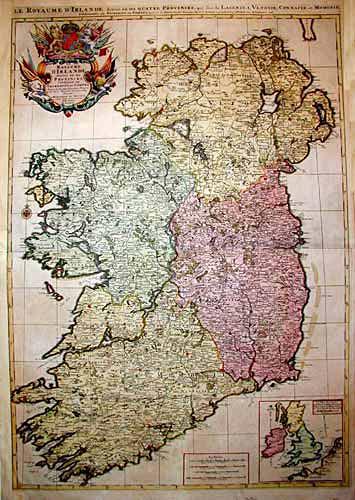 Jaillot  Les Royaumes d' Irlande…