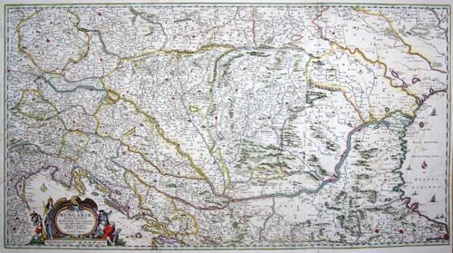 Visscher  Totius Regni Hungariae, Maximae que Partis Danubii Fluminis, …..