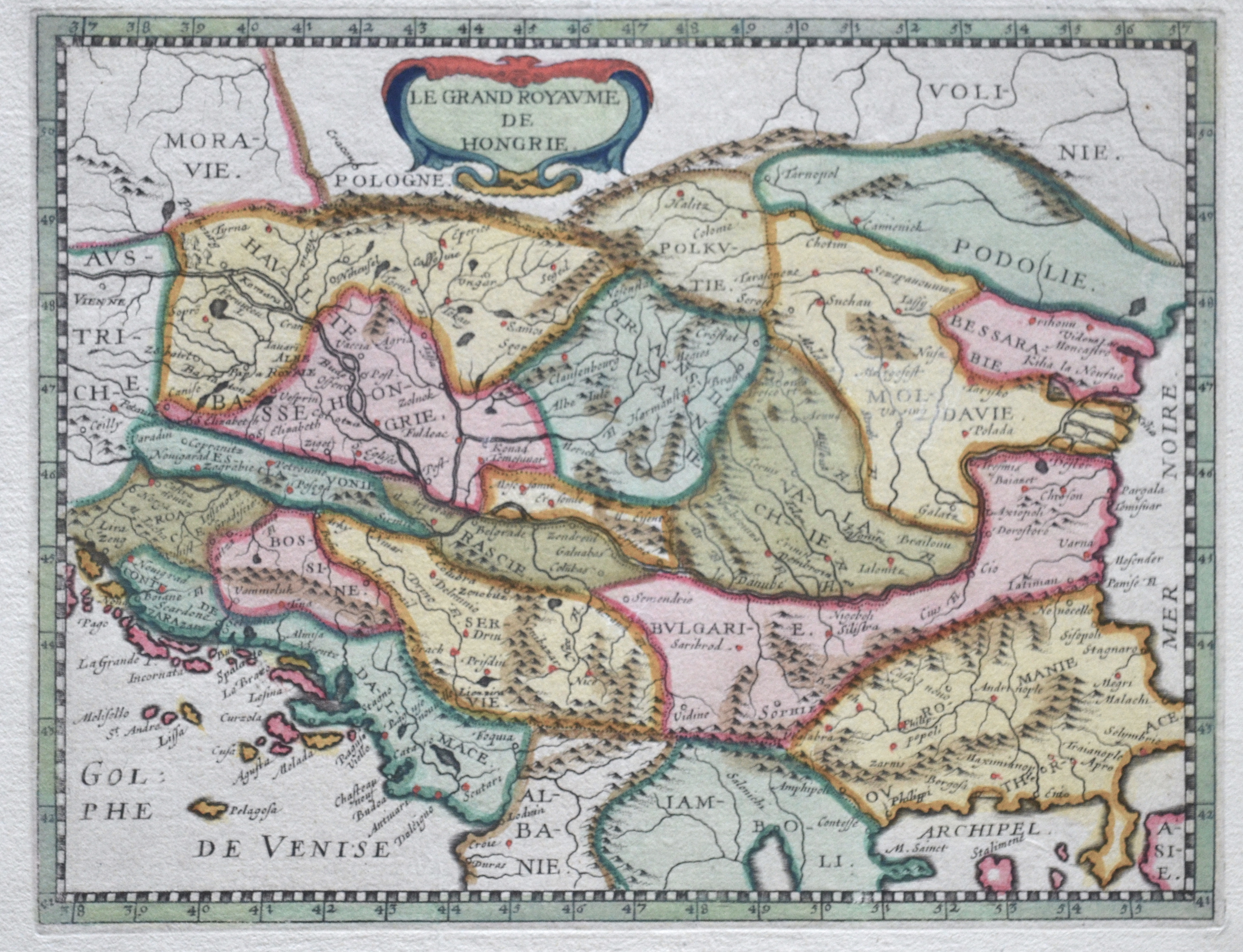 Anonymus  Le Grand Royaume de Hongrie.