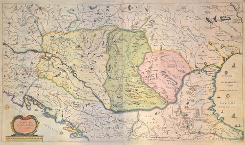 Bouttats  Carte di Ungharia moderna