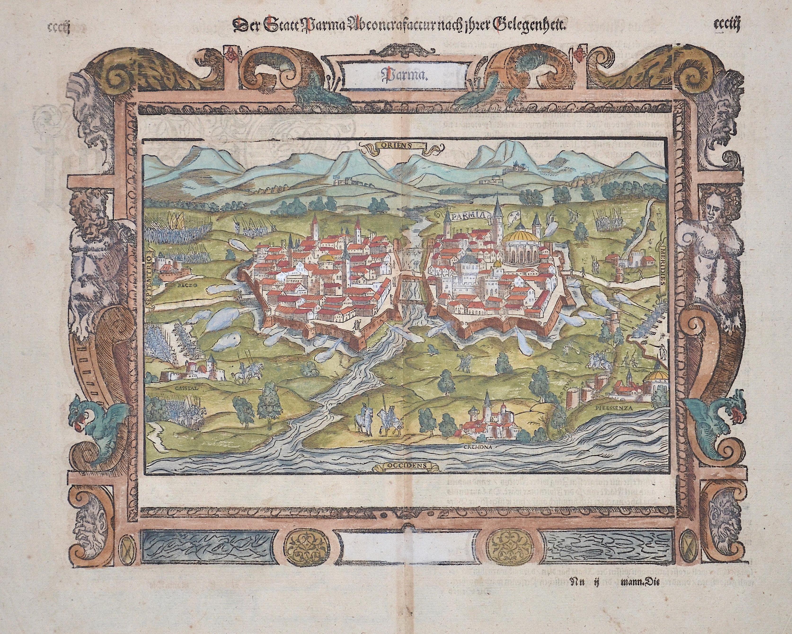 Münster Sebastian Der Statt Parma…