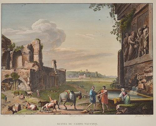 Daudet  Ruines du Campo Vaccino