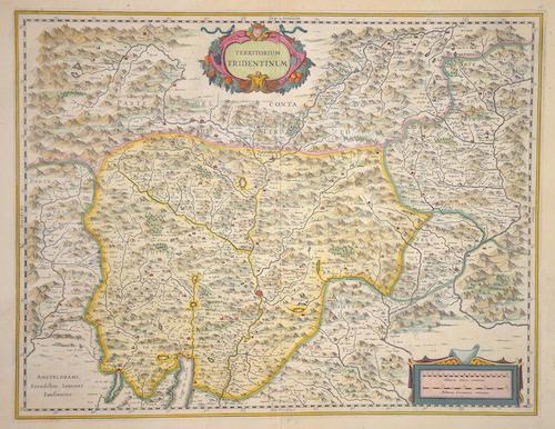 Janssonius Johann Territorium Tridentinum