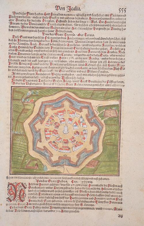 Münster  Von der Statt Treviso/ Tervis