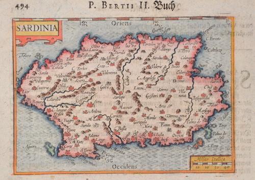 Bertius Petrus Sardinia
