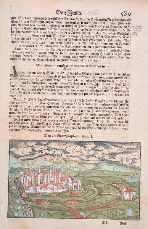 Münster  Von der Statt Paphey