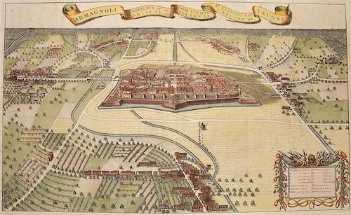 Huchtenberg, van  Carmagnoli ingenomen in 1691 door syn Ht.den Pr. Eugenius van Savoye…….