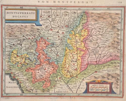 Janssonius/Mercator-Hondius, H. Johann Montisferrati ducatus