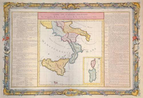 Desnos  Suite de L´Italy – ancienne de l´ Appulie, de la Grande – Grece, de la Sicile, et autres isles