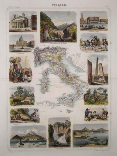 Brockhaus Friedrich Arnold Italien