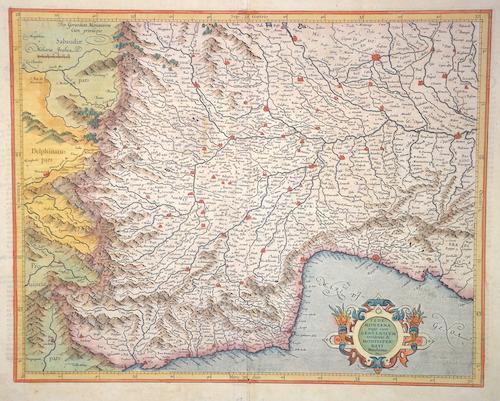 Mercator Gehard Pedemontana regio cum Genuensium territorio & Montesferrati Marchionatu