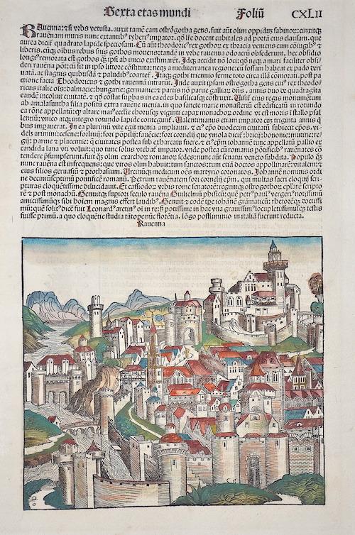 Schedel  Berta etas mundi Foliu – Ravenna