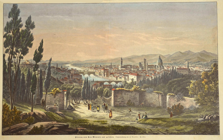 Nieriker  Florenz von San Miniato aus gesehen.
