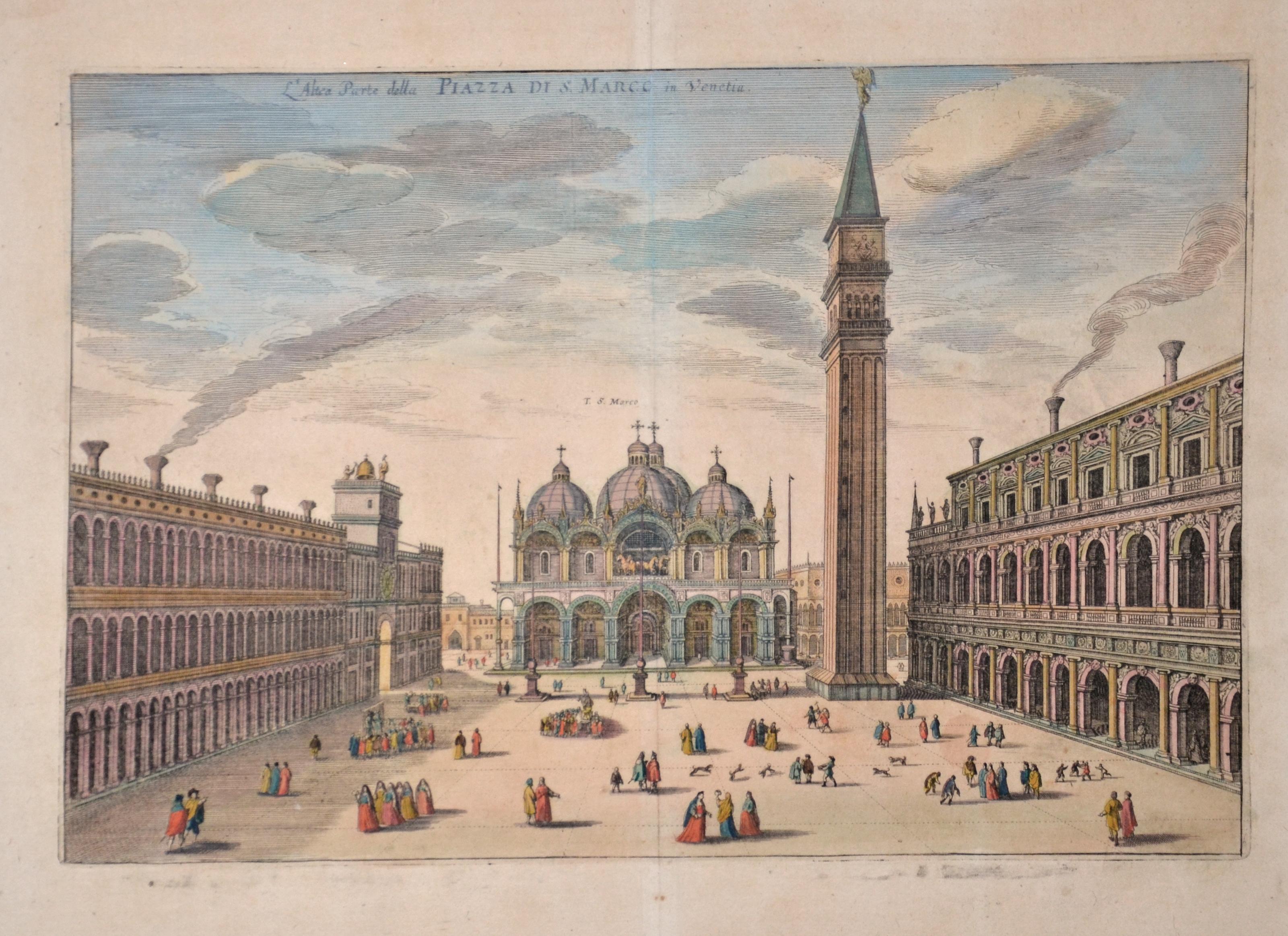 Merian  L'Altea Parte della Piazza di S. Marco in Venetia.