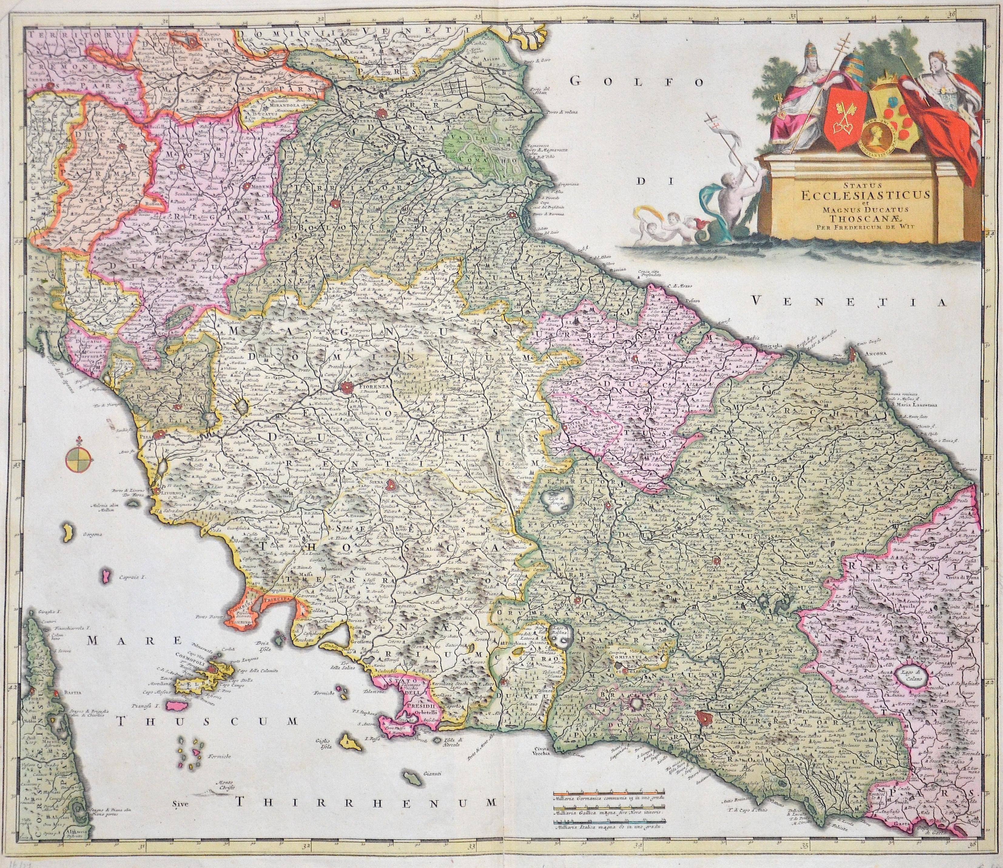 Wit, de Frederick Satus Ecclesiasticus et Magnus ducatus Thoscanae