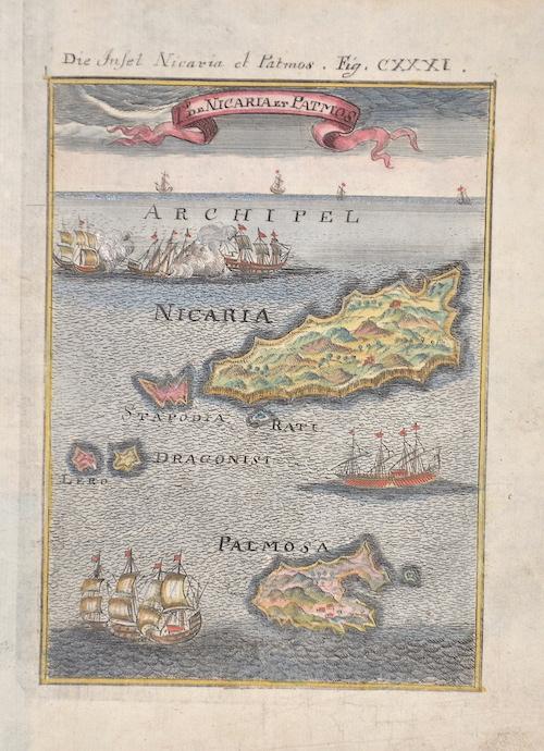 Mallet  Die Insel Nicaria et Patmos/ I de Nicaria et Patmos