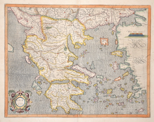 Mercator  Graecia
