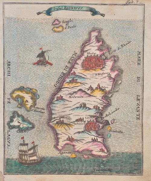 Anonymus  Insul Rhodus.